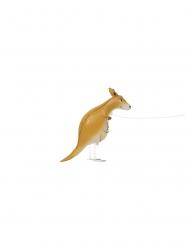 Kävelevä kenguru- alumiininen ilmapallo 101 cm