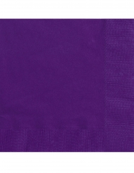Tummanvioletit servetit 25 x 25 cm 20 kpl