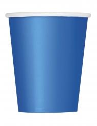 Siniset pahvimukit 266 ml 8 kpl