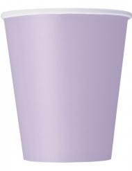 Pahvimukit, laventeli 266 ml 8 kpl