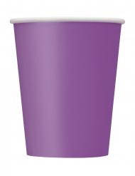 Violetit pahvimukit 266 ml 8 kpl