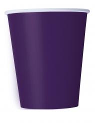 Violetit pahvimukit 266 ml 14 kpl