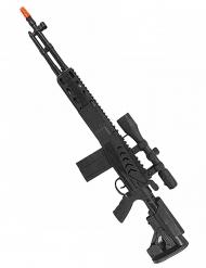 Musta konepistooli lapselle 71 cm