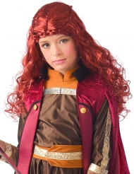 Pojoiden prinsessan punainen peruukki tytölle