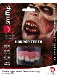 Zombin realistiset hampaat aikuiselle