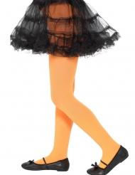Oranssit opaque sukkahousut lapselle