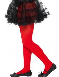 Punaiset sukkahousut tytölle