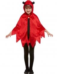 Paholaisen punainen veluuriviitta lapselle