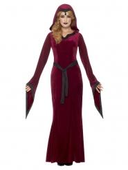 Keskiaikasen vampyyrin naamiaisasu naiselle