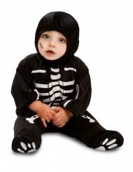 Pienen luurangon musta haalari vauvalle