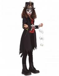 Voodoo- noidan naamiaisasu tytölle