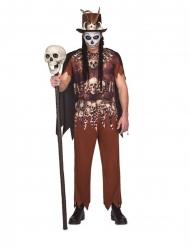 Voodoo- kannibaalin naamiaisasu miehelle