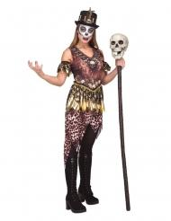 Voodoo- kannibaalin naamiaisasu naiselle