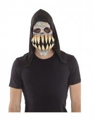 Lateksinen naamari suurilla hampailla aikuiselle
