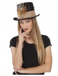 Luurangon käsi-hattu aikuiselle 59 cm