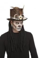 Voodoo-velhon hattu aikuiselle 59 cm