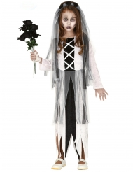 Nuoren zombimorsiammen naamiaisasu tytölle