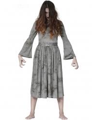 Pelottavan kummituksen naamiaisasu naiselle