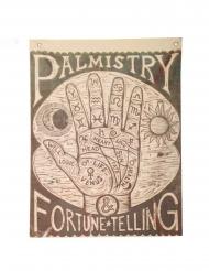 Kädestäennustajan juliste 100 x 75 cm