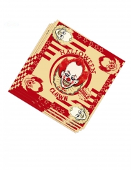 Murhaajaklovni- paperiset servetit 33 x 33 cm 20 kpl