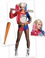 Harley Quinn- naamiaisasu ja asusteet naiselle