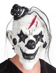 Psykopaattiklovnin mustavalkoinen naamari