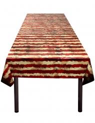 Muovinen ja pelottava sirkuspöytäliina 120 x 180 cm