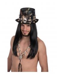 Veluurinen voodoo-hattu