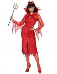 Punaisen paholaisen naamiaisasu naiselle