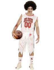 Koripallon pelaajan/zombien naamiaisasu miehelle
