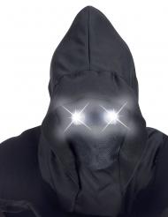 Hupullinen naamari valosilmillä aikuiselle