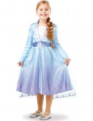 Klassinen Frozen 2™ Elsan naamiaisasu tytölle