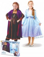 Frozen 2™ Elsan ja Annan naamiaisasusetti tytölle