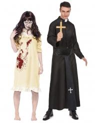 Riivatun tytön ja papin pariasu aikuisille