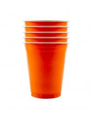 Oranssit pahvimukit 53 cm 20 kpl