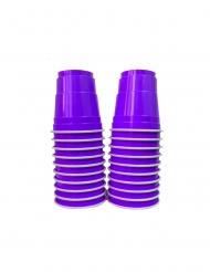 Violetit shottilasit 20 kpl 4 cl
