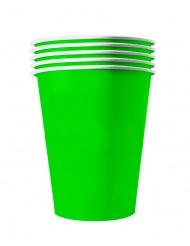 Vihreät amerikkalaiset kierrätyskelpoiset pahvimukit 20 kpl 53 cl