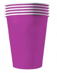 Violetit kierrätettävät amerikkalaiset pahvimukit 53 cl