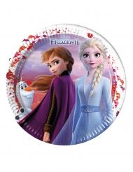 Frozen 2™-pahvilautaset 8 kpl 23 cm
