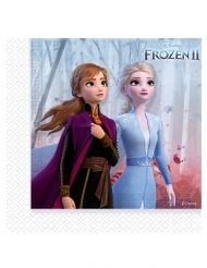 Frozen 2™- paperiset servetit 20 kpl 33 x 33 cm