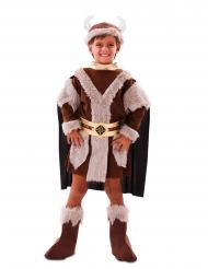 Ruskea viikinkiasu pojalle