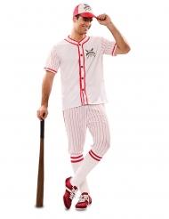 Baseball-pelaajan naamiaisasu miehelle