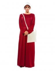 Punaisen palvelijattaren naamiaisasu naiselle