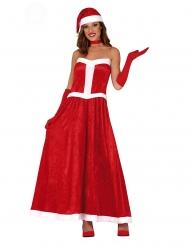 Joulumuorin mekkoasu naiselle