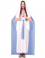 Neitsyt Marian viitallinen naamiaisasu naiselle