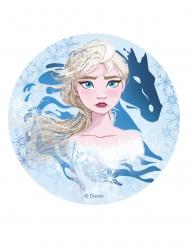 Frozen 2™-Elsa-kakkukuva 20 cm