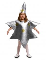 Hopeanvärinen tähtiasu lapselle