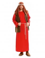 Punainen Joosefin naamiaisasu miehelle