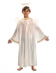 Valkoisen enkelin naamiaisasu lapselle