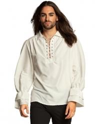 Merirosvon valkoinen paita miehelle